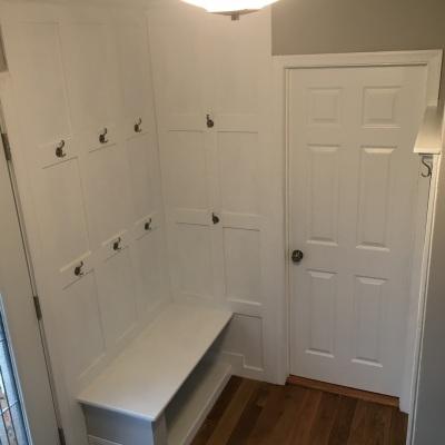 Yorktown Asbury Cabinets, Sienna Beige Corian Countertop